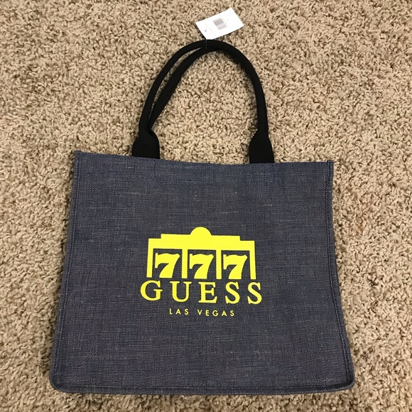 Guess Limited Edition Denim Backpack NWT